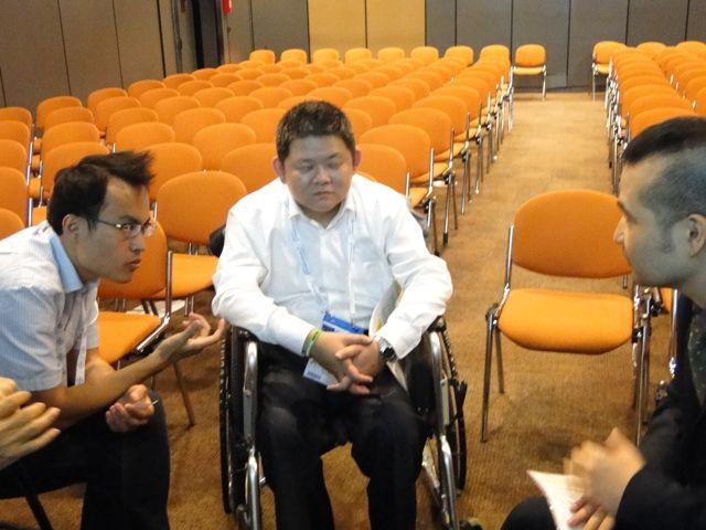 世界血友病連盟(WFH)国際会議2012報告 はばたきは4本のポスター発表やアジアミーティングに参加しました