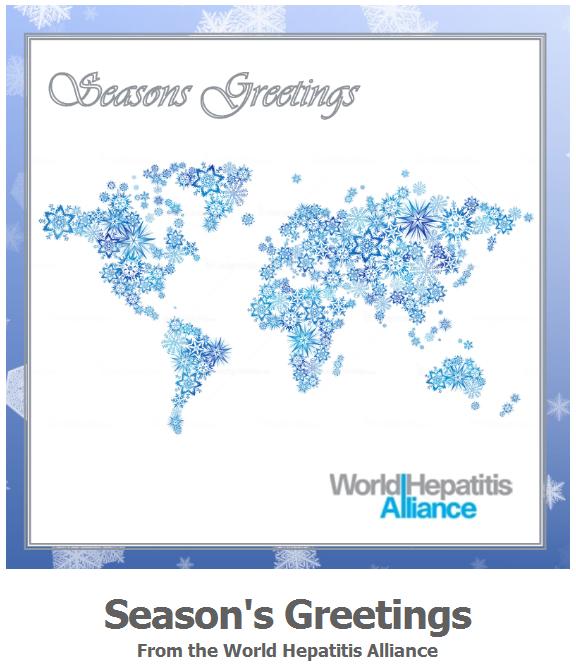 世界肝炎連盟からご挨拶が届きました。