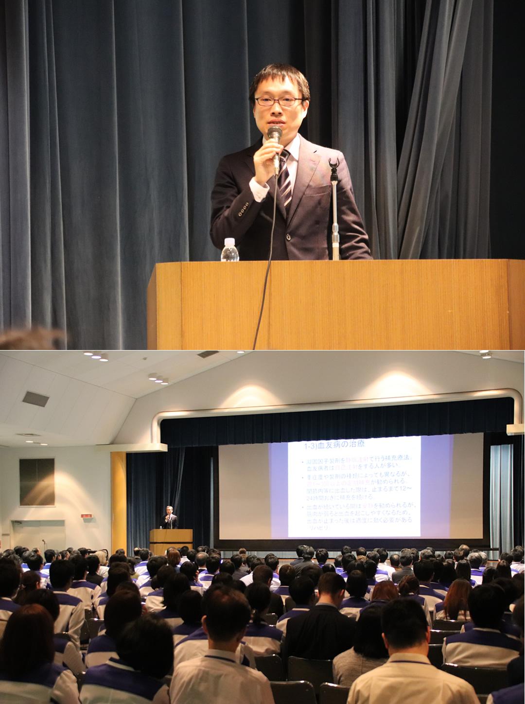 被告企業主催の講演会で被害者と遺族が講演 KMバイオロジクス・化学及血清療法研究所共催「薬害エイズ和解の日」教育講演会